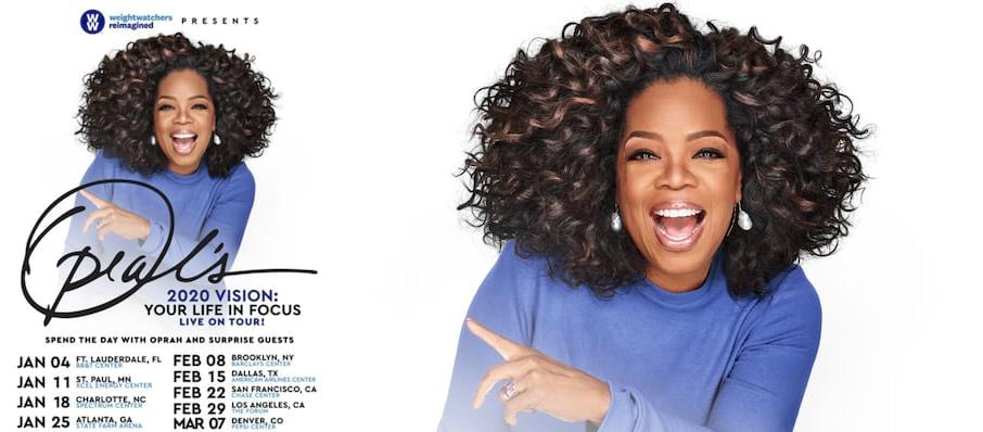 Oprah Winfrey at Xcel Energy Center