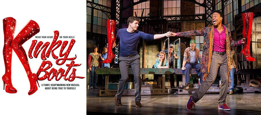 Kinky Boots at Ordway Music Theatre