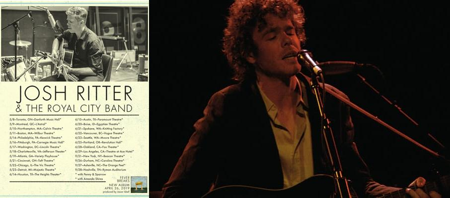 Josh Ritter at Fitzgerald Theater