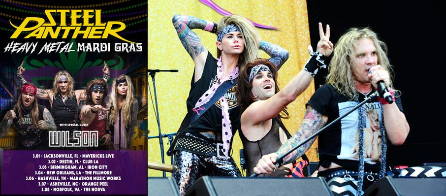 Steel Panther at Palace Theatre St. Paul