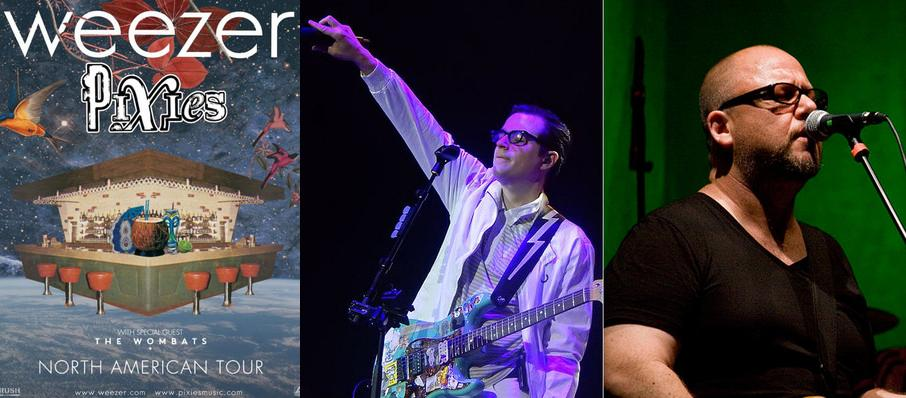 Weezer and Pixies at Xcel Energy Center