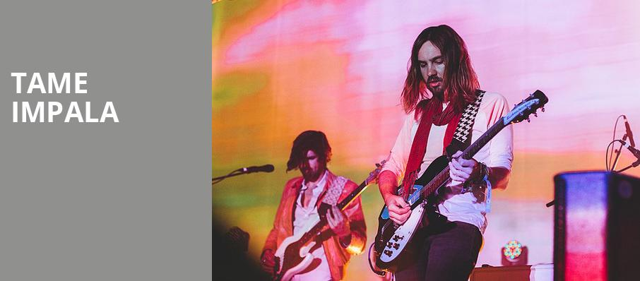 Tame Impala, Xcel Energy Center, Saint Paul