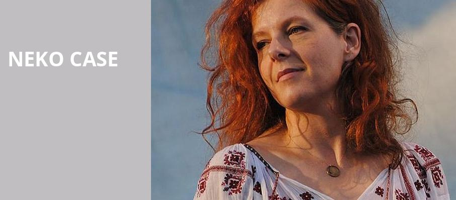 Neko Case, Fitzgerald Theater, Saint Paul
