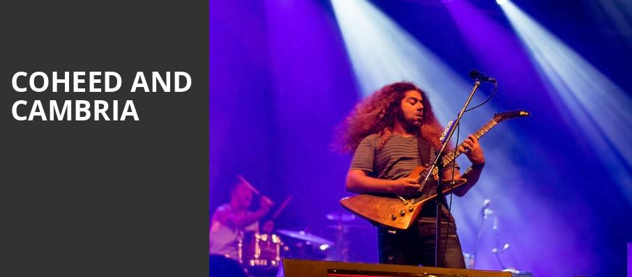 Coheed and Cambria, Palace Theatre St Paul, Saint Paul