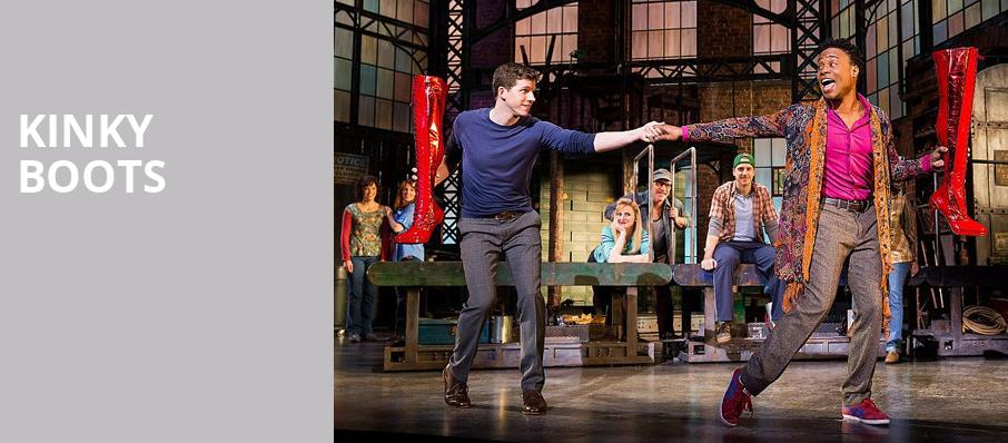 Kinky Boots, Ordway Music Theatre, Saint Paul