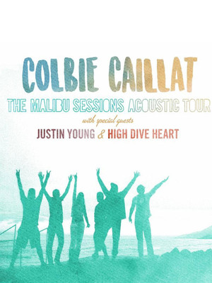 Colbie Caillat, Justin Young & High Dive Heart Poster