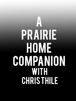A Prairie Home Companion with Chris Thile Poster